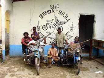 Le groupe Staff Bena Bilili