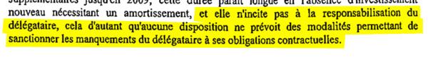 Extrait du rapport de la Chambre Régionale des Comptes d'Ile de France sur la gestion de La Courneuve