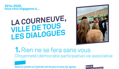 "Extraits du programme 2014-2020  ""La Gauche Rassemblée"""