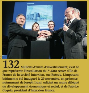 Extrait du journal municipal Regard n°371
