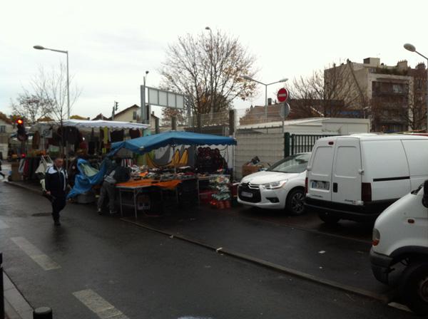Des commerçants installés hors périmètre rue Marcelin Berthelot.