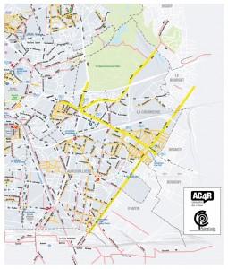 En jaune, les projet à l'ordre du jour du 15 février.